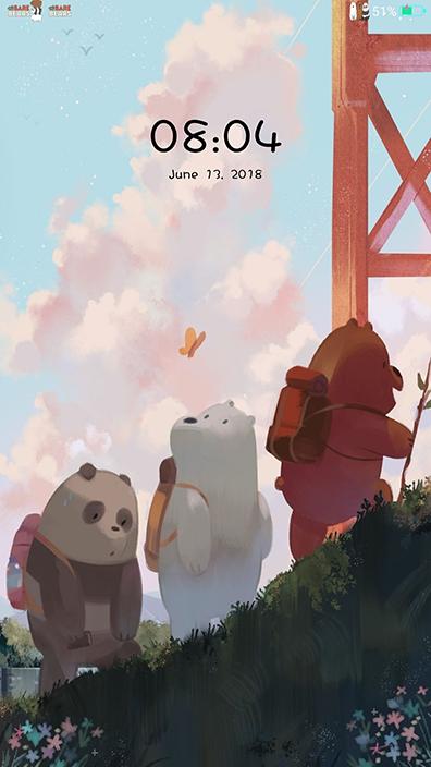 Oppo Theme: Oppo We Bare Bears Theme