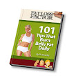 101 tips to burn belly fat