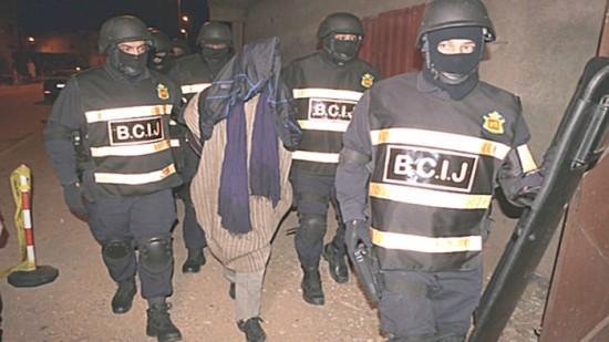 Démantèlement d'un réseau terroriste à Fès par le BCIJ.