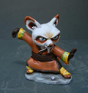 action figures personalizzate statuette cartoni animati orme magiche