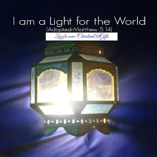I am a light for the world Matthew 5:14
