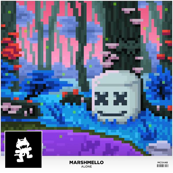 Marshmello - Alone - Single Cover