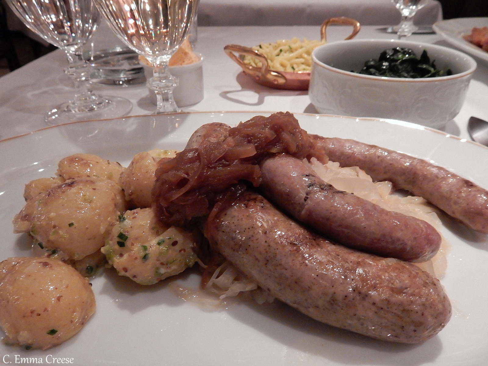 Best Sausages in Marylebone Adventures of a London Kiwi