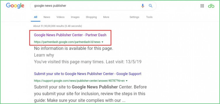 Google-news-publisher-website