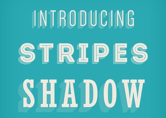 05. STRIPES SHADOW TEXT EFFECT