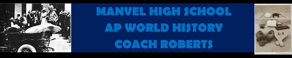 Coach Roberts' APWH Blog: January 2019