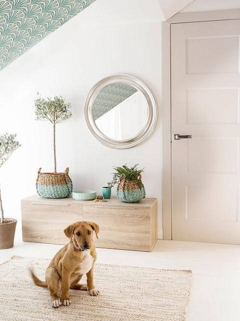Ideas para decorar recibidores pequeños-15