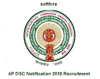 AP DSC Notification 2018 Recruitment