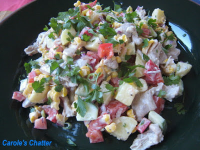 Carole's Chatter: Poached Chicken Salad
