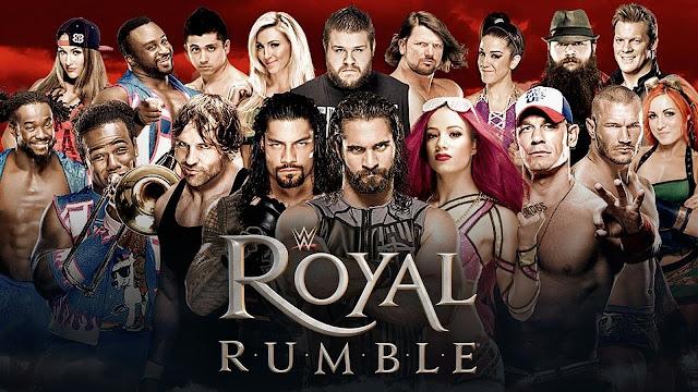 نتيجة عرض رويال رامبل Royal rumble 2018 ننشر نتائج عرض مهرجان أعظم رويال رامبل 27-4-2018 كامل