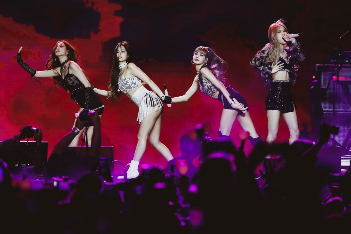 BLACKPINK Performs at Coachella 2019 in Indio