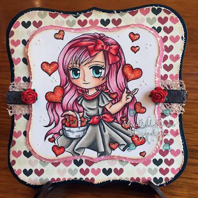Art by Miran Basket of Love