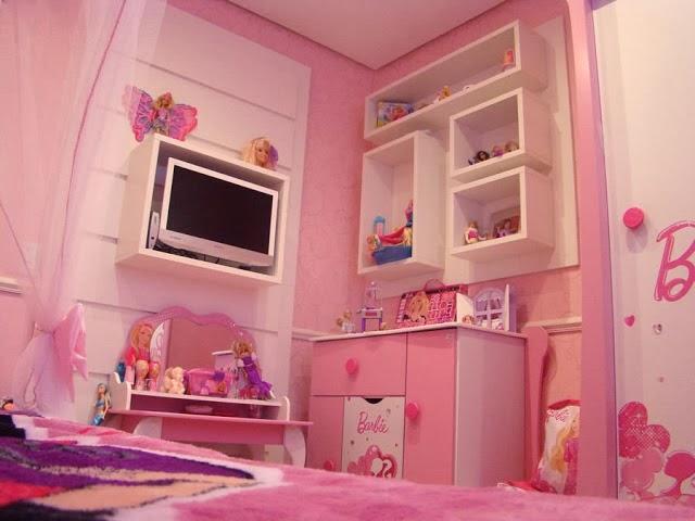 Blooms of Dahlia: barbie bedroom decor