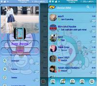 BBM MOD Doraemon V3.0.1.25 APK [Base Mod Transparant]