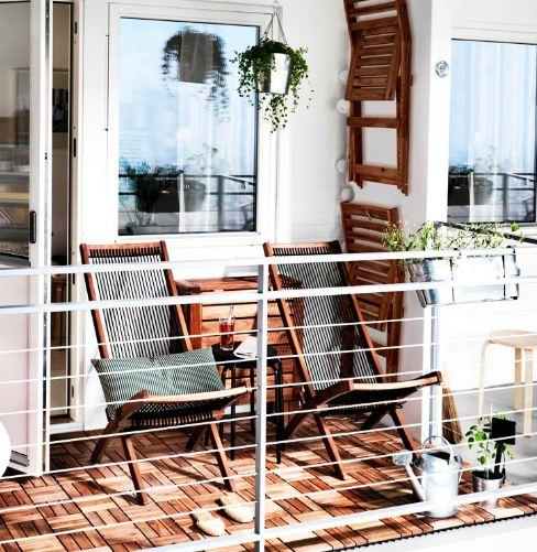 Urban Balcony Garden Ideas: Ikea Balcony Garden Ideas