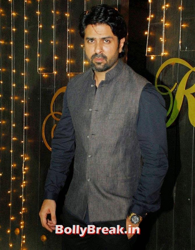Harmaan Baweja, Shilpa Shetty's Diwali Bash 2014 Photos