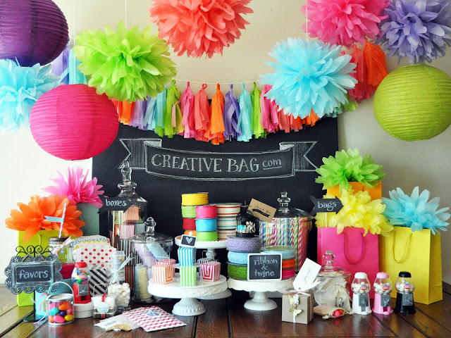 Creative Bag party packaging and party supplies