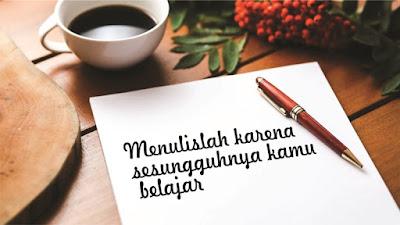 Menulis adalah hobi yang menghasilkan Uang