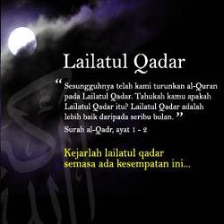Dp Dalil Lailatul Qadar
