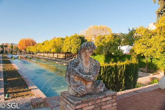 Jardines del Alcazar de los reyes cristianos. Recorrido fotografico por Cordoba