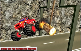 Game Grand Monster Truck Stunts App
