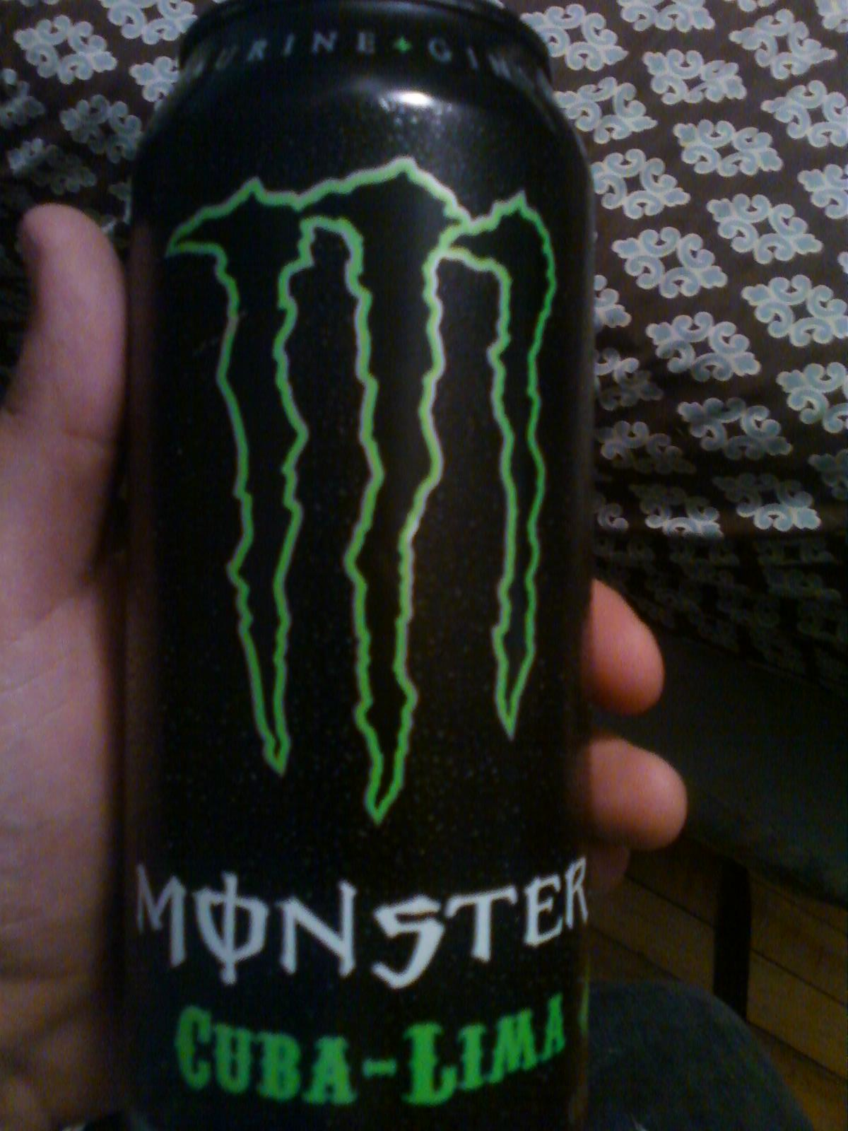 Energy Drink Heaven Monster Cuba Lime