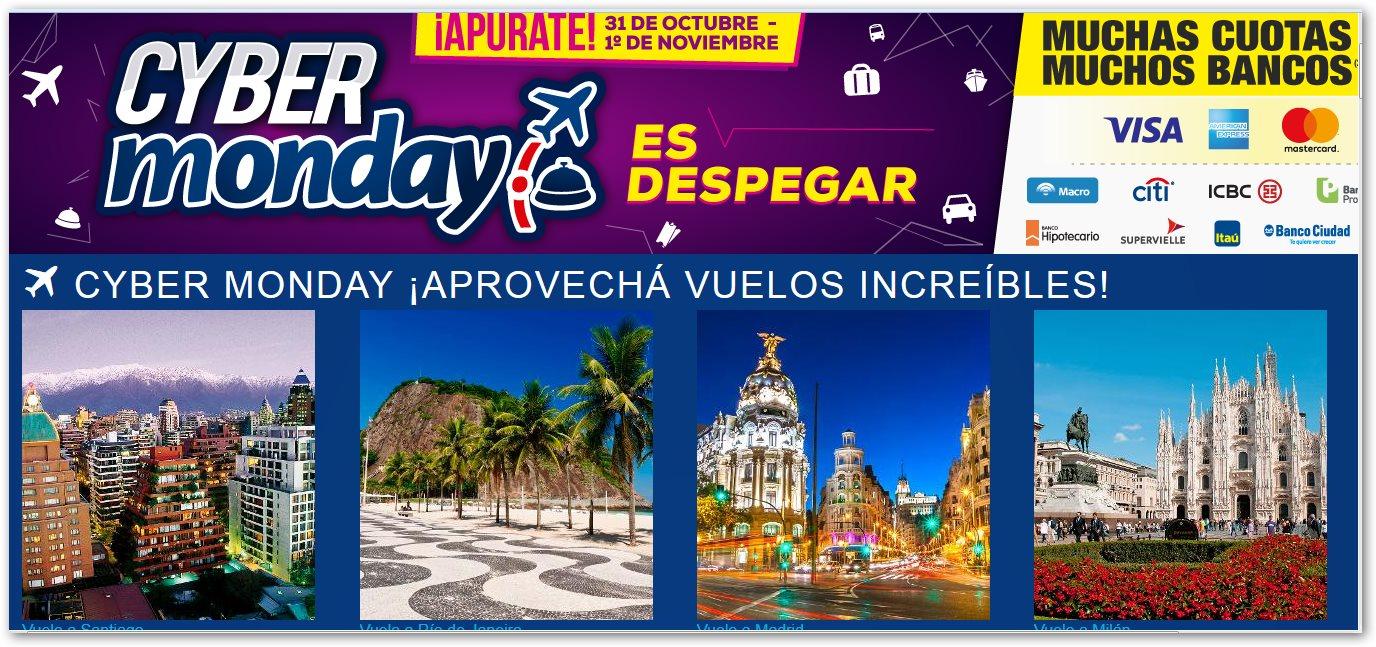 Promociones en la costa descuentos y promos ofertas Cyber monday 2016 argentina muebles
