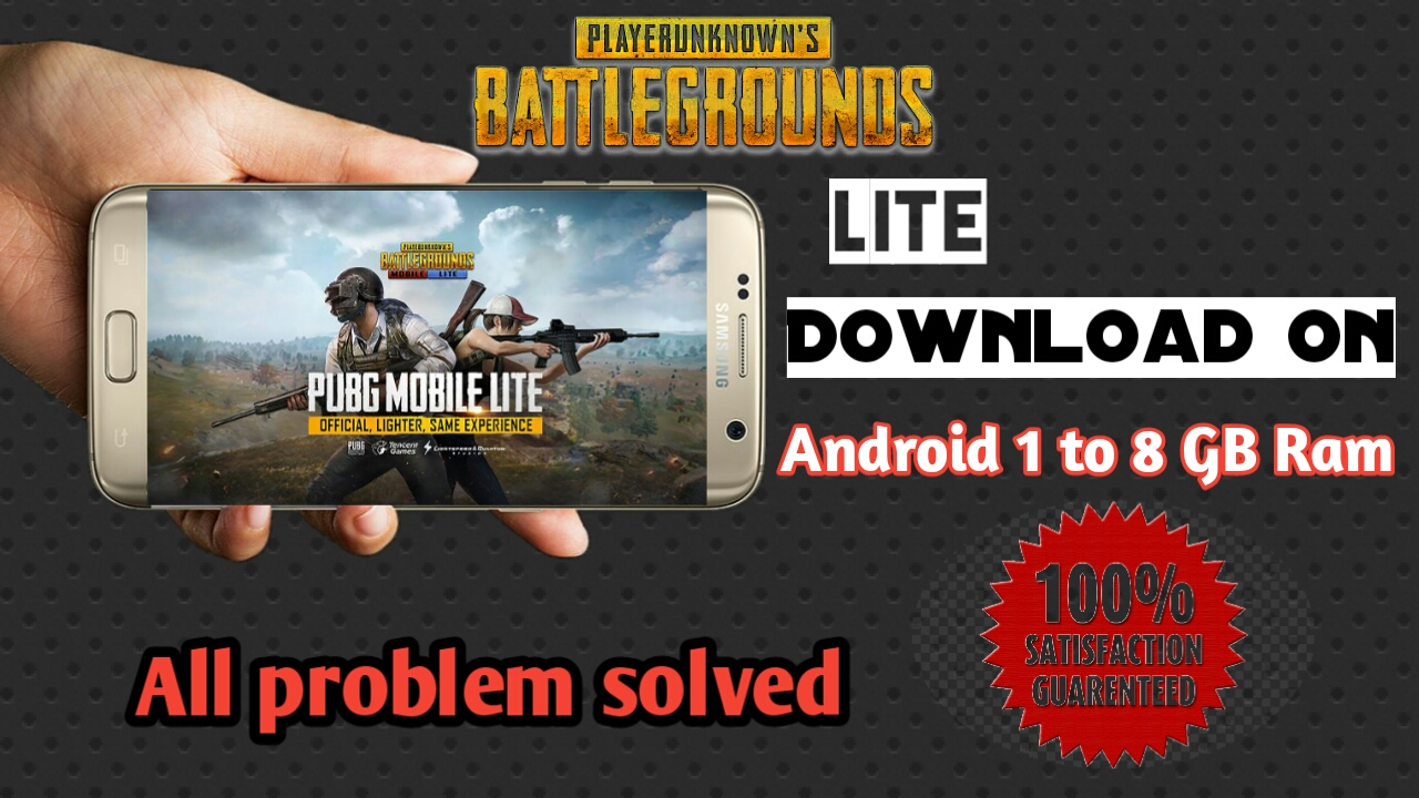Pubg Mobile Lite | Now Download On All Android Devices | 1Gb To 8Gb