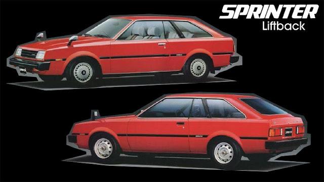 Jenis-Jenis Toyota Sprinter liftback