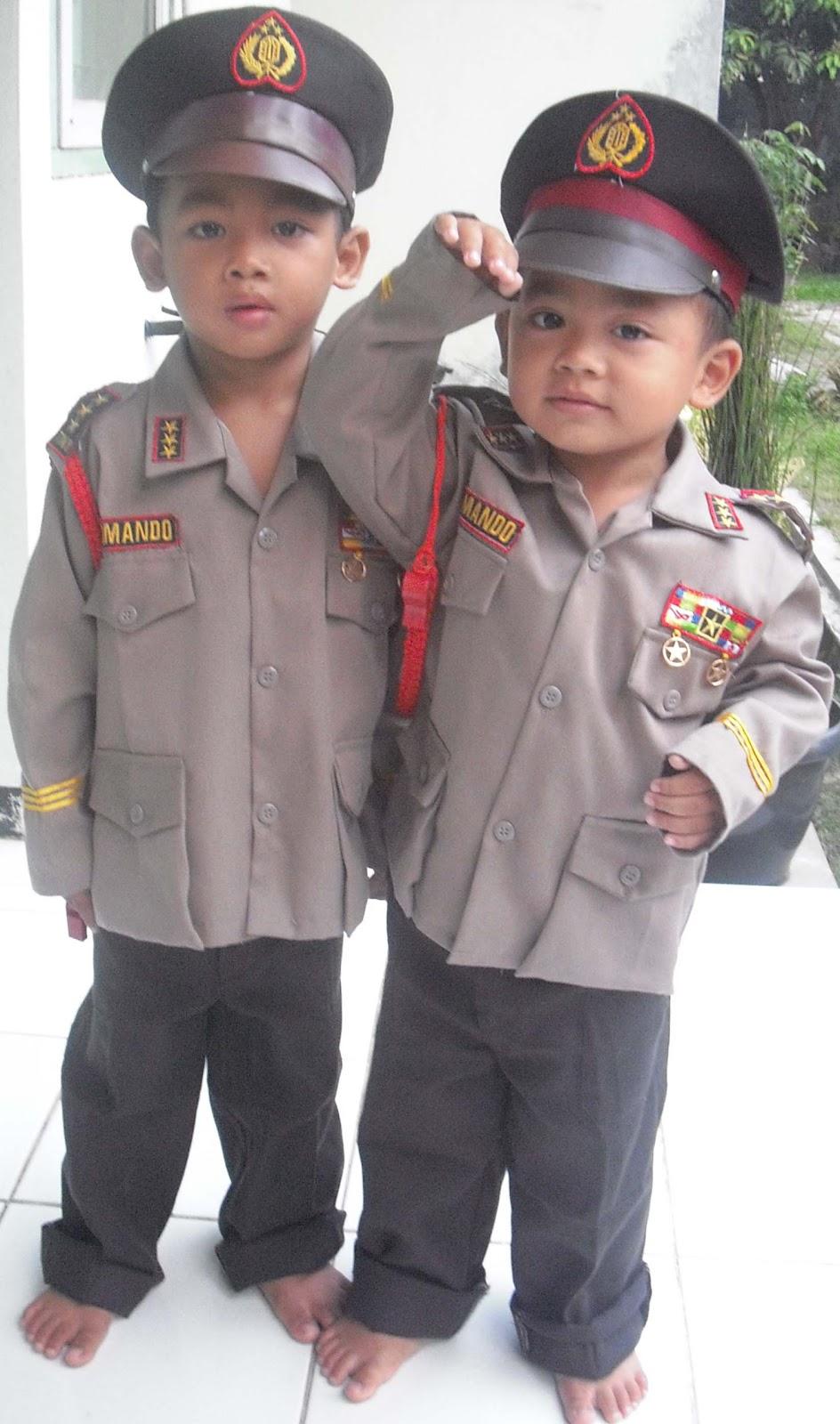 gerai anak: Baju Polisi Anak