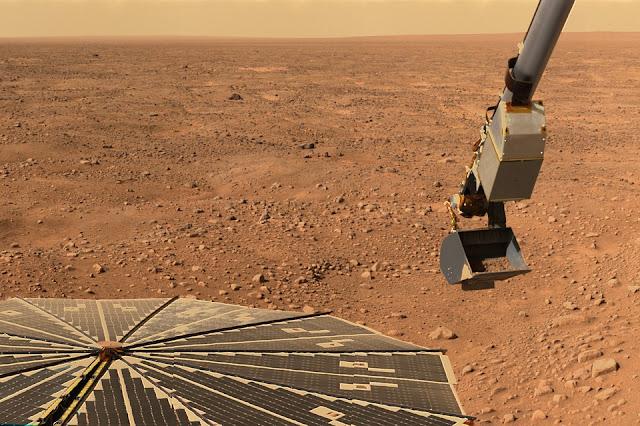 La NASA cubre la evidencia de la vida extraterrestre en Marte