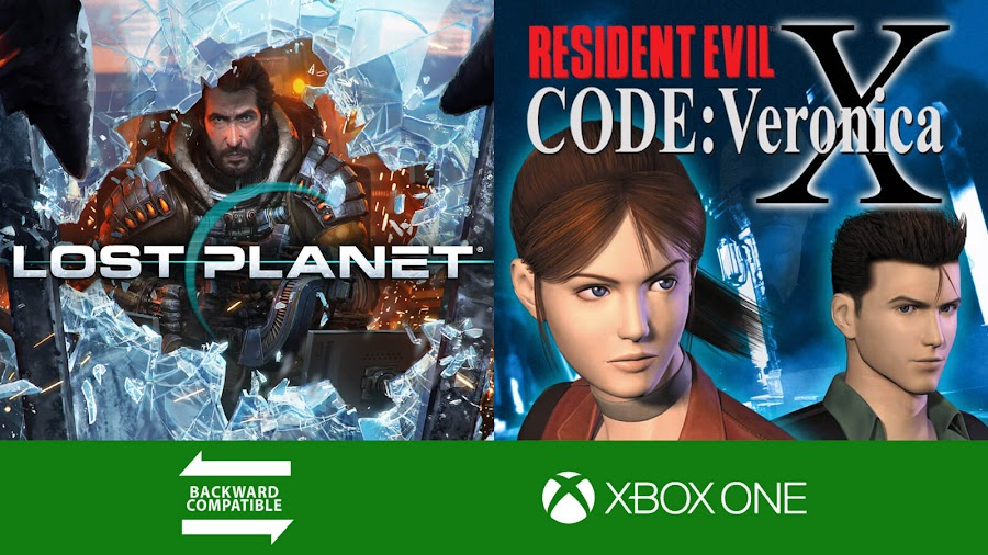 lost planet resident evil code veronica xbox one backwards compatible