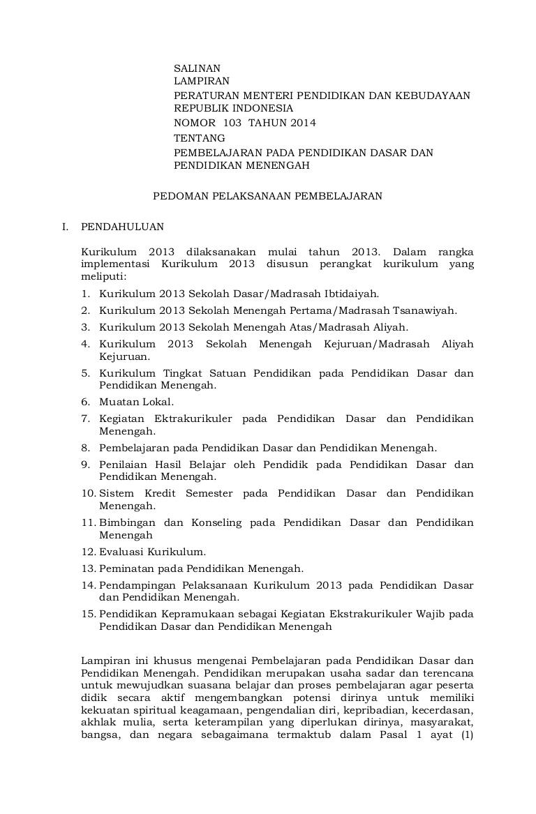 Lampiran Permendikbud No 23 Tahun 2016 : lampiran, permendikbud, tahun, Lampiran, Permendikbud, Tahun, Scribd