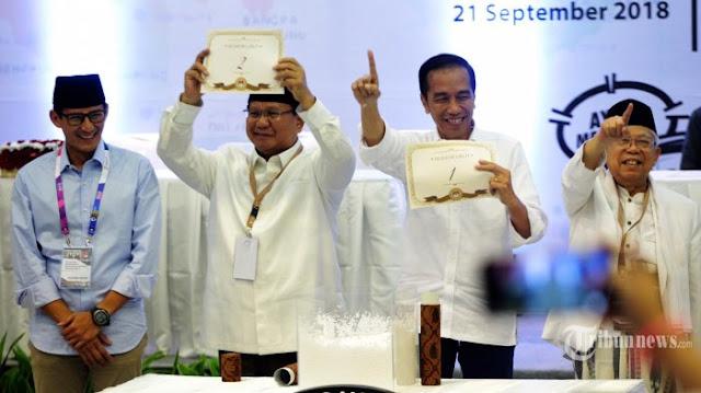 "Koalisi Prabowo-Sandi: Nomor Dua Hentikan Narasi ""Dua Periode"""
