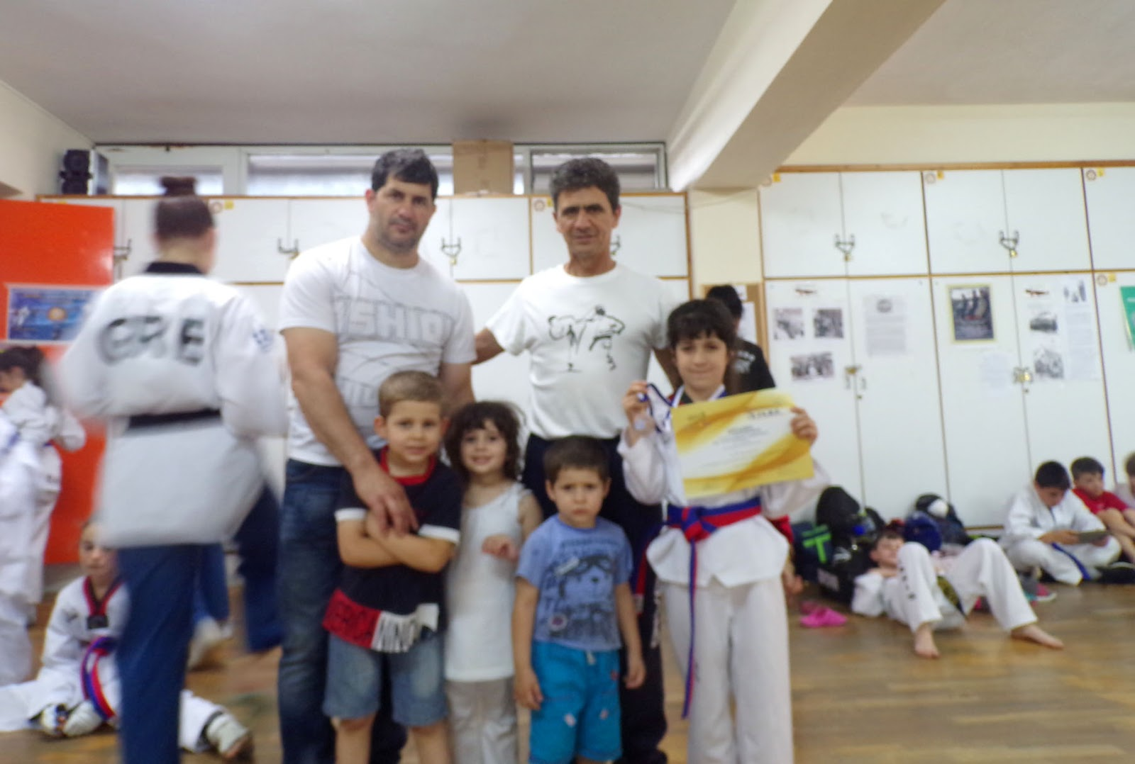 1st Kids Festival Tae Kwon Do της Ε.ΤΑ.Β.Ε.