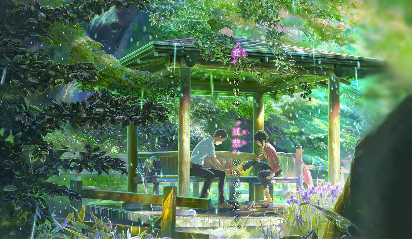 Anime Manga Craze The Garden Of Words Kotonoha No Niwa Review