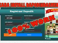 Cara Install Dapodik 2018 Gak Ribet Gak Nyampe 5 menit Full Video Tutorial