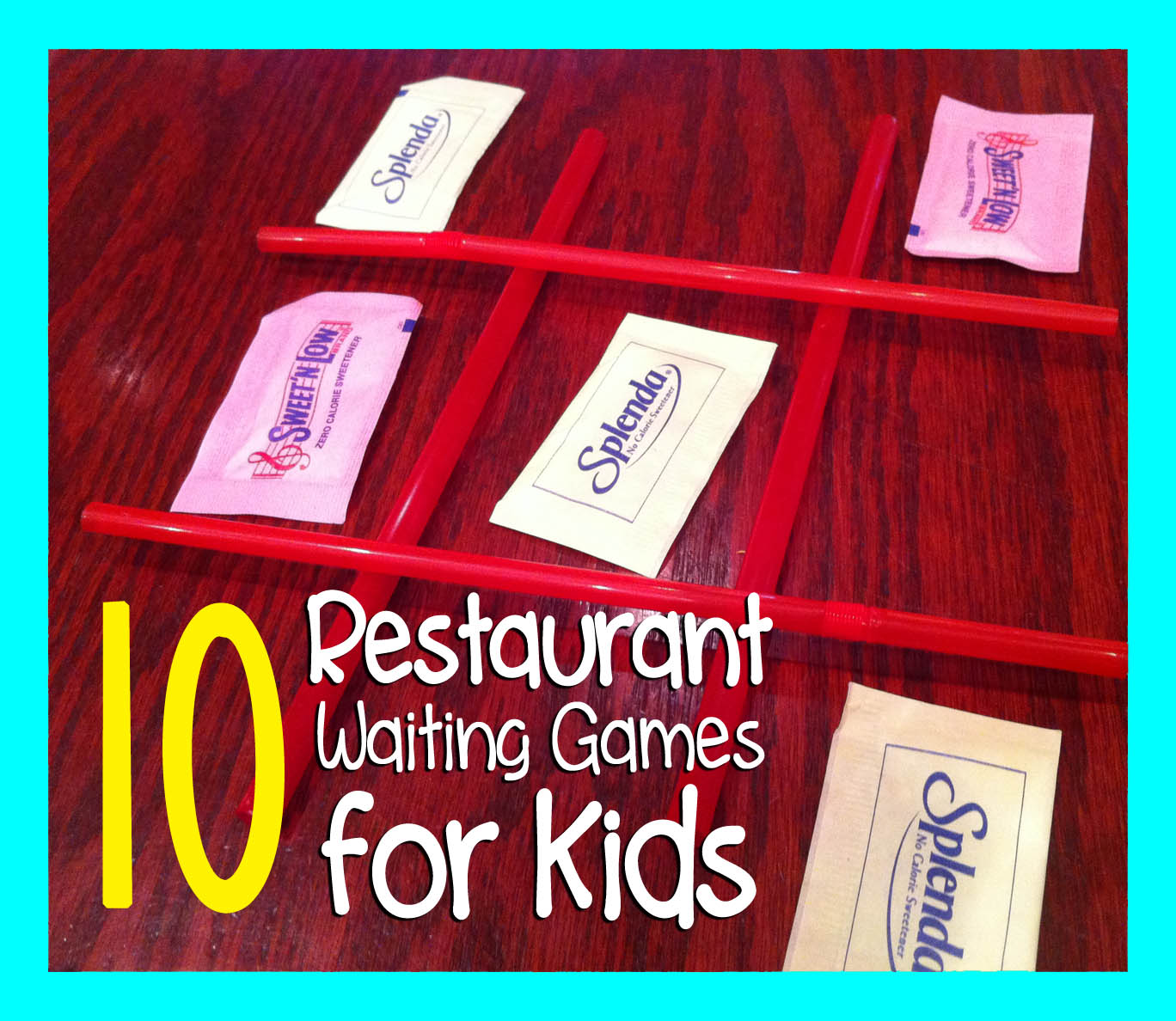 10 restaurant waiting games to play with kids repeat crafter me before we had kids my husband and i would eat out all the time and enjoyed our time together discovering new foods and restaurants geenschuldenfo Choice Image