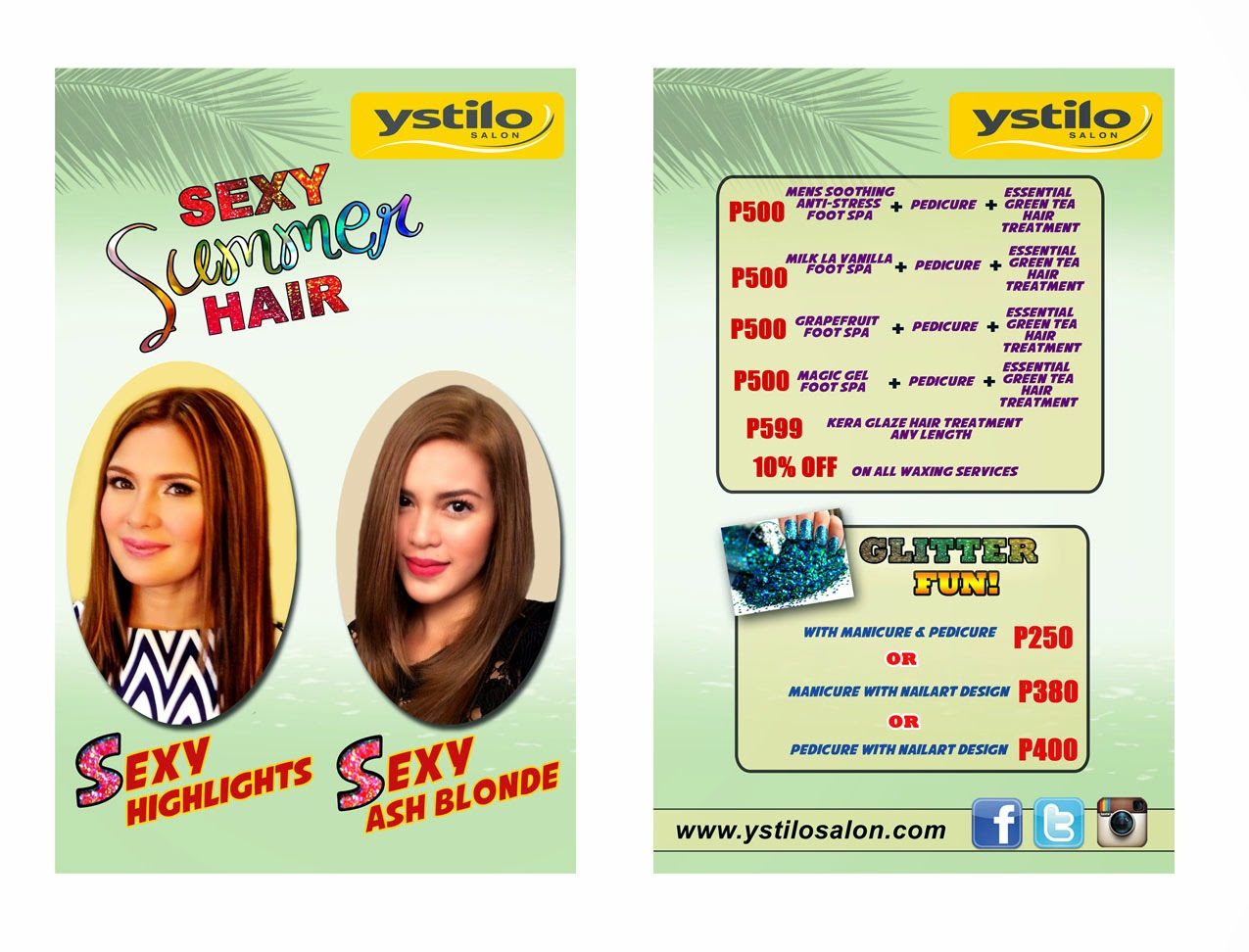 have a sexy summer hair at ystilo salon - it's me, gracee
