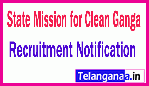 State Mission for Clean Ganga SMCG Recruitment Notification