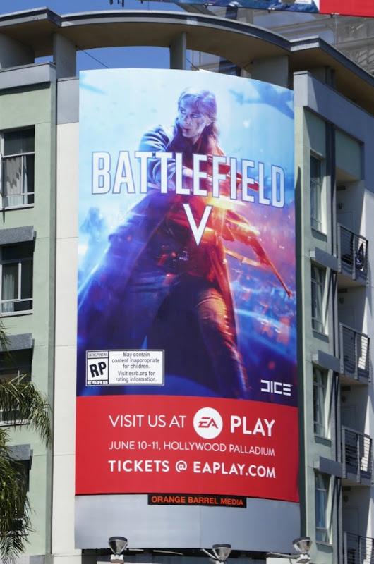 Battlefield V EA Play billboards