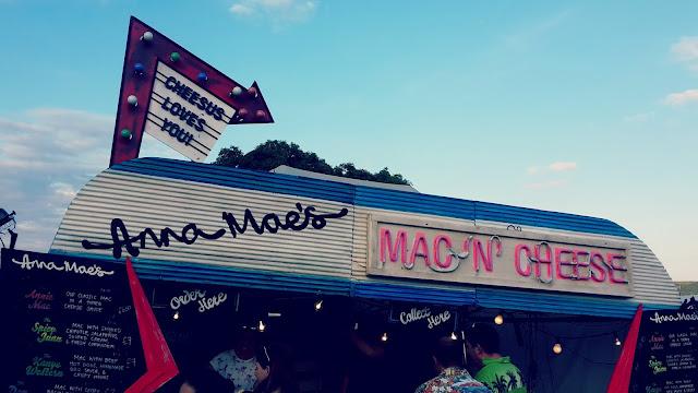 Camp Bestival Food Mac 'n' Cheese // 76sunflowers