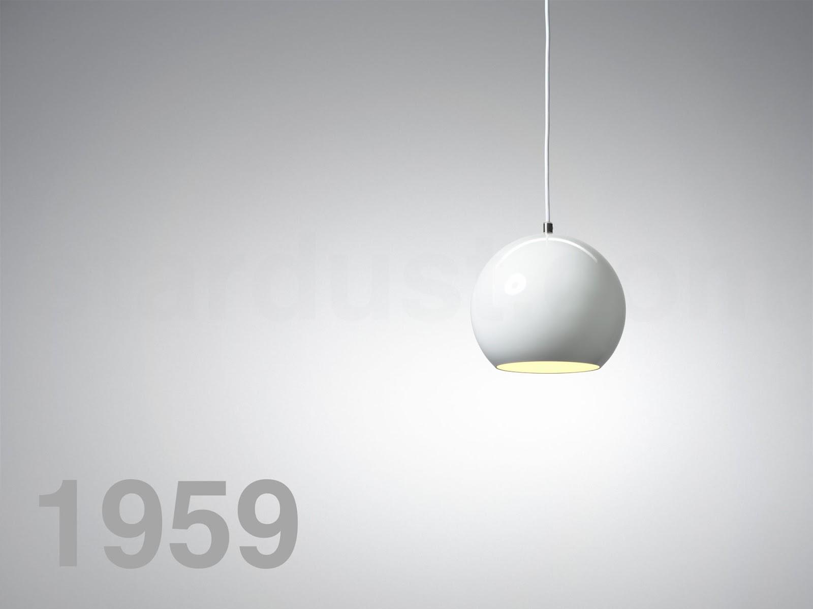 VP6 whiteglobemodernpendantlightballshape White