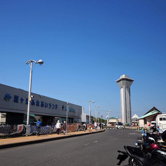 霞ヶ浦 つくば霞ヶ浦りんりんロード 道の駅たまつくり 虹の塔