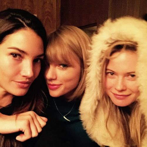 Model sandwich: Taylor Swift ready for the runway | Before Victoria's Secret appearance