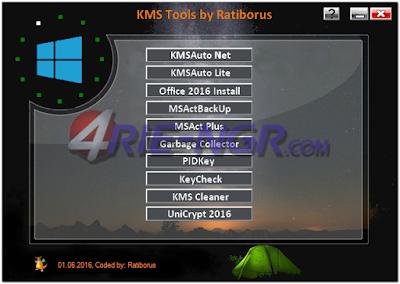 Ratiborus KMS Tools 13.07.2017 Portabel