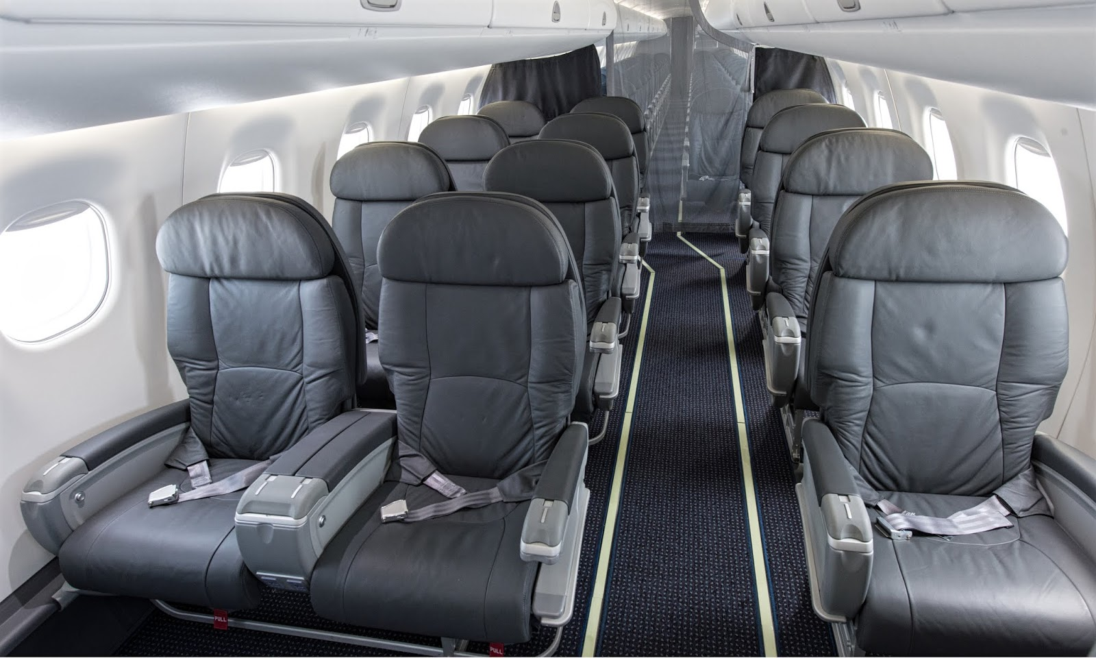 American Airlines E-175 First Class Seating Layout