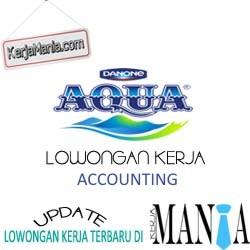 Lowongan Kerja Accounting Danone Aqua
