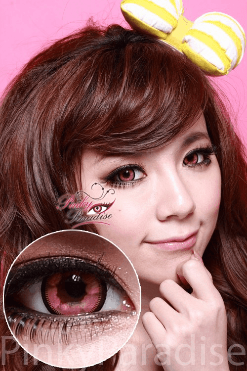 Vassen Cloud Nine Pink Circle Lenses (Colored Contacts)