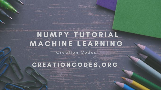 Python NumPy Tutorial A beginners guide - creationcodes
